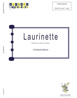 Christophe Merzet - laurinette - Partition - di-arezzo.com