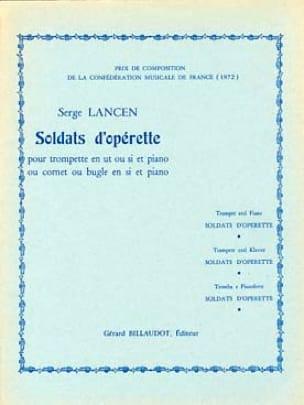 Serge Lancen - Operetta Soldiers - Partition - di-arezzo.co.uk