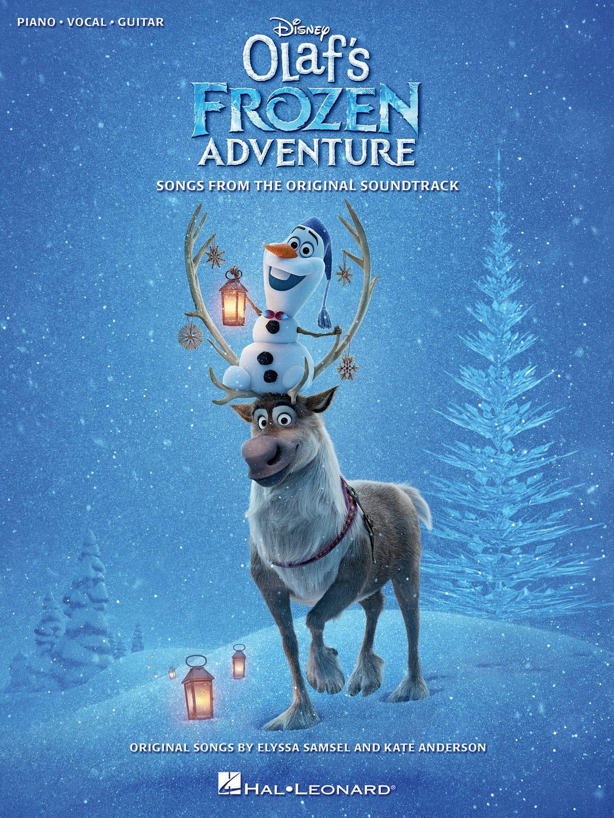 La Reine des neiges - Joyeuses Fêtes avec Olaf - Musique du Film - laflutedepan.com