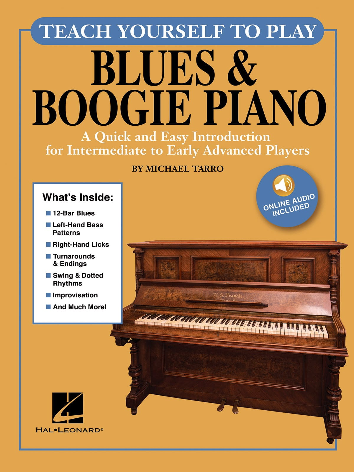 - Teach Yourself to Play Piano - Blues & Boogie Piano - Partition - di-arezzo.fr