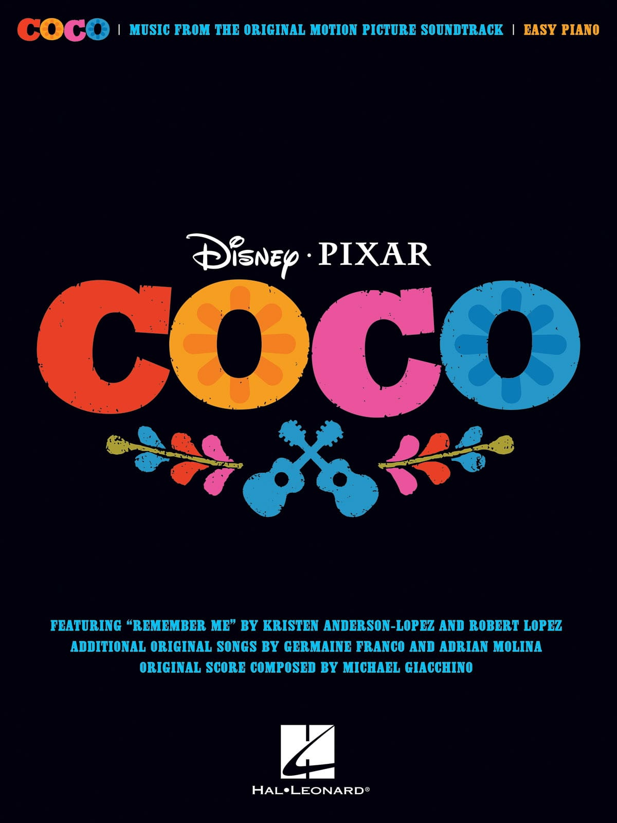DISNEY / PIXAR - Coco - Movie Music - Partition - di-arezzo.it