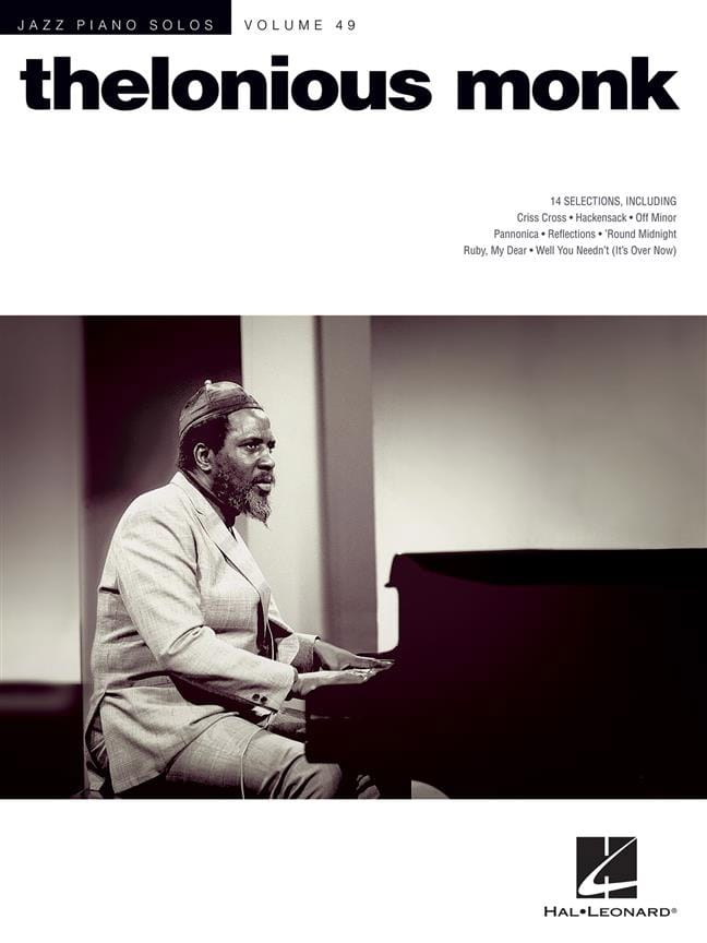 Thelonious Monk - Jazz Piano Solo Series Volume 49 - Thelonious Monk - Partition - di-arezzo.co.uk