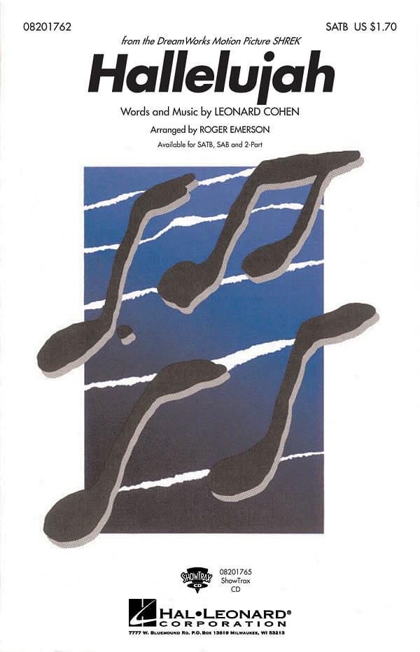 Leonard Cohen - Hallelujah - Partition - di-arezzo.it