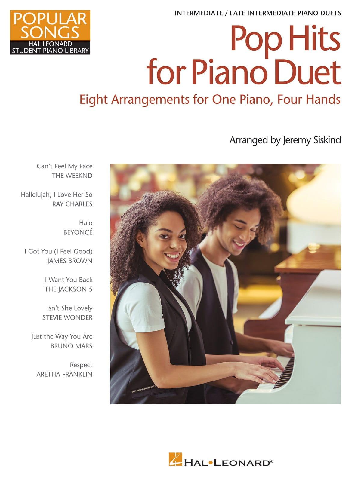 Pop Hits for Piano Duet – Popular Songs Series - laflutedepan.com