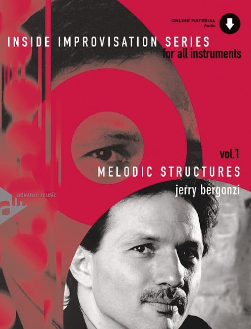 Jerry Bergonzi - Volume 1 - Melodic Structures - Partition - di-arezzo.co.uk