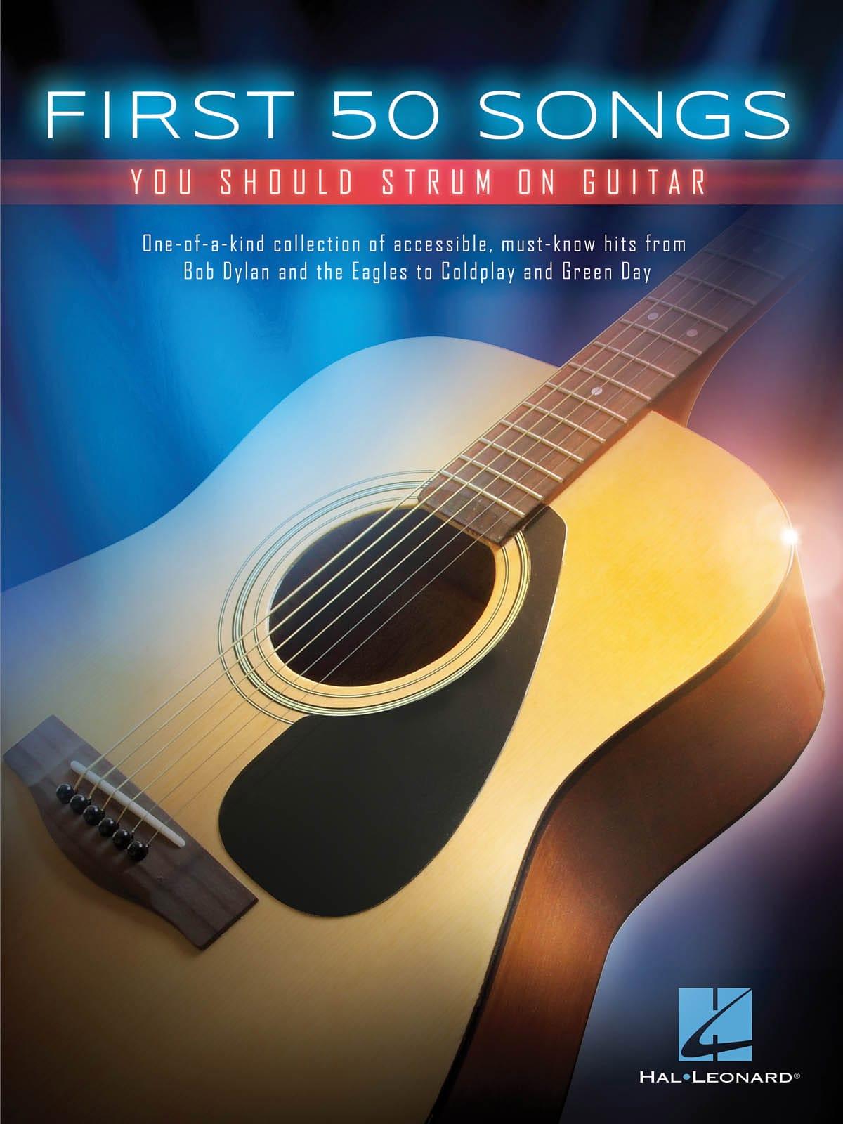 First 50 Songs You Should Strum on Guitar - laflutedepan.com