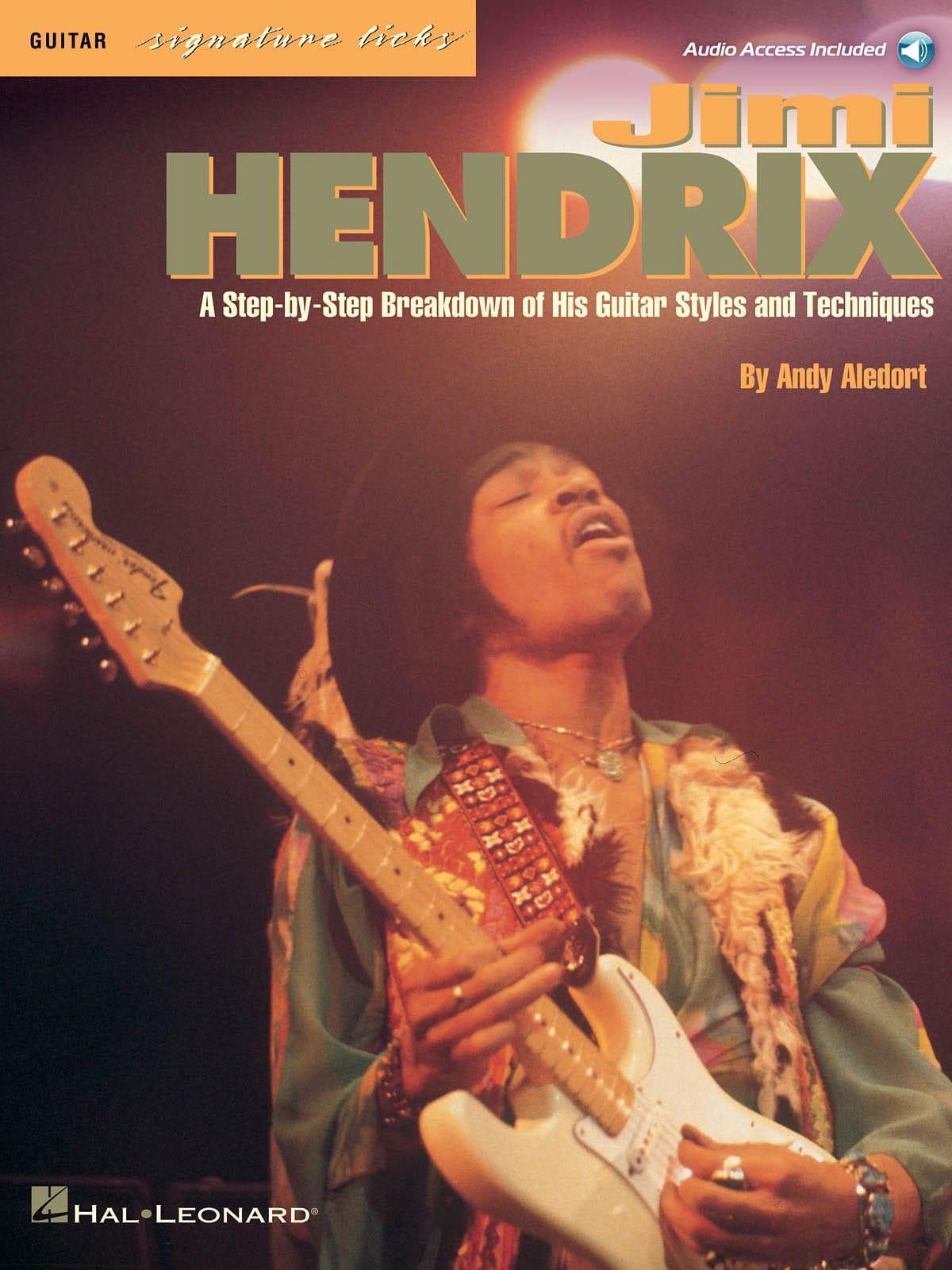 Jimi Hendrix - Guitar Signature Licks - Partition - di-arezzo.fr