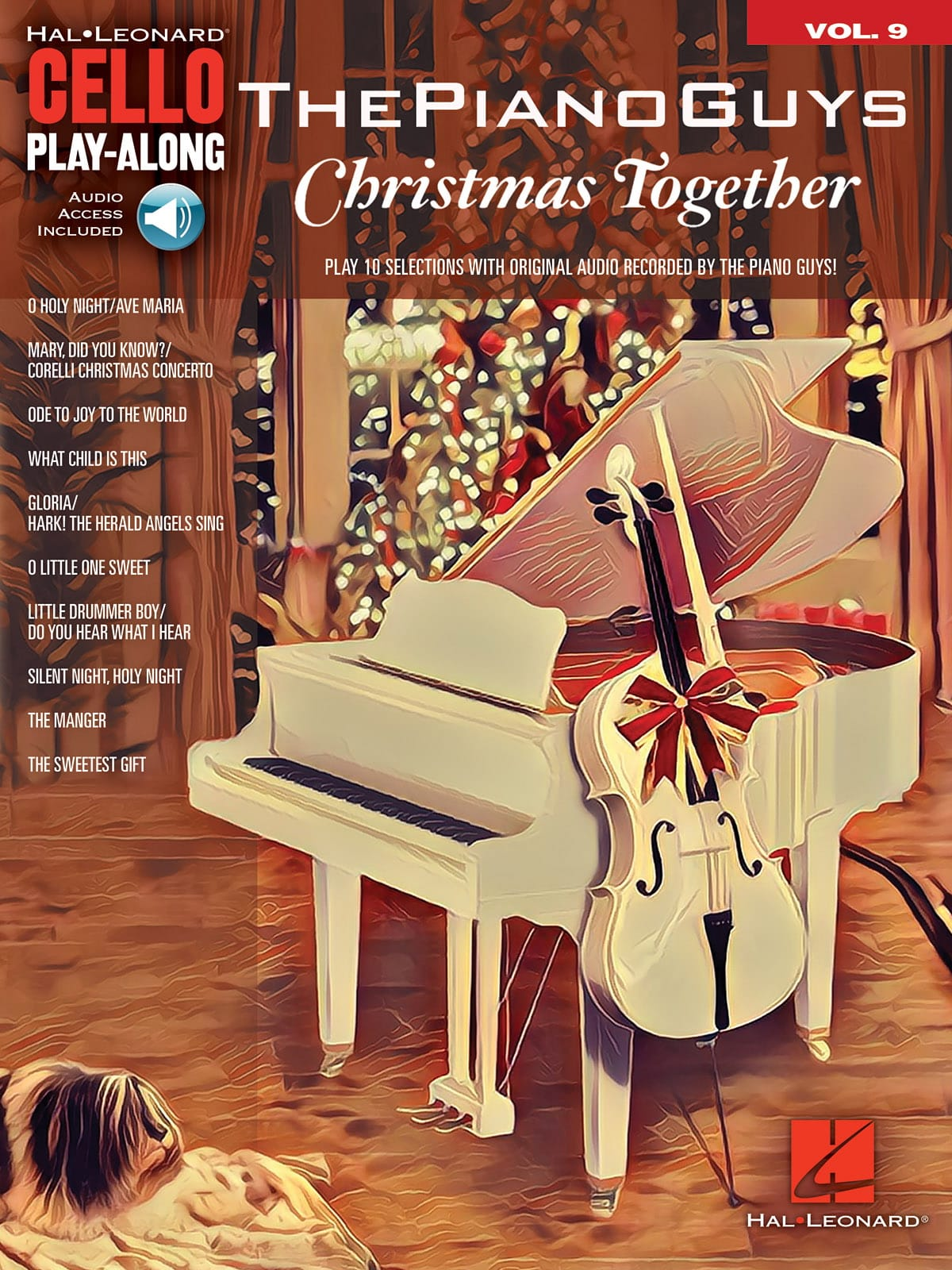 ThePianoGuys - Cello Play-Along Volume 9 - The Piano Guys - Christmas Together - Partition - di-arezzo.com