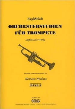 Orchesterstudien für Trompete Band 3 - laflutedepan.com