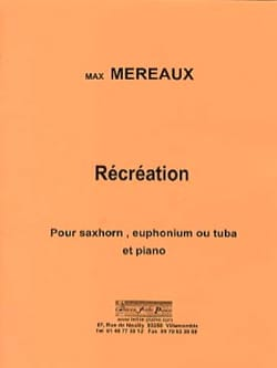 Récréations - Max Méreaux - Partition - Tuba - laflutedepan.com
