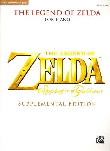 Musique de Jeux Vidéo - The Legend of Zelda ™: Symphony of the Goddesses Supplemental Edition - Partition - di-arezzo.com