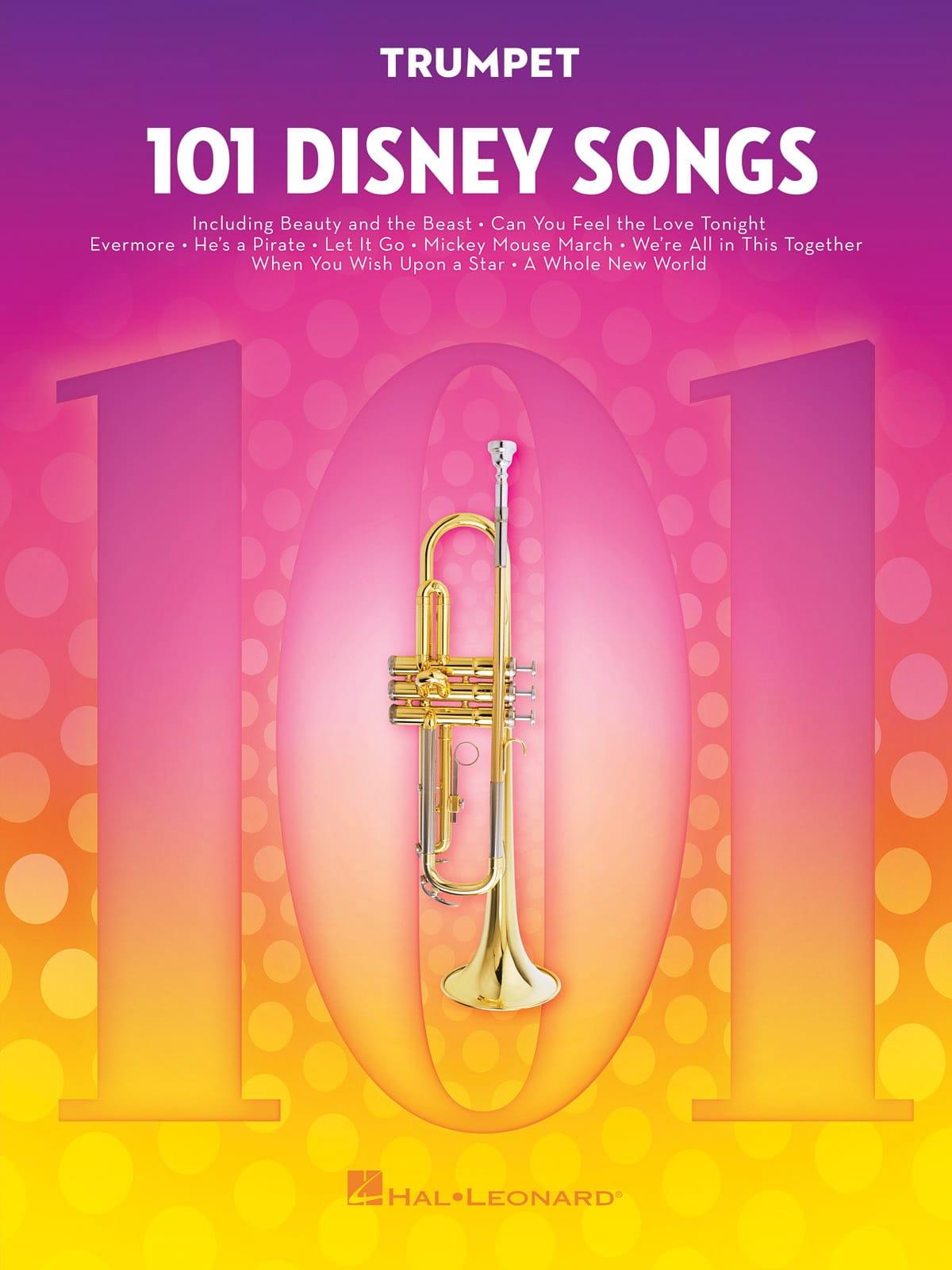 101 Disney Songs - DISNEY - Partition - Trompette - laflutedepan.com