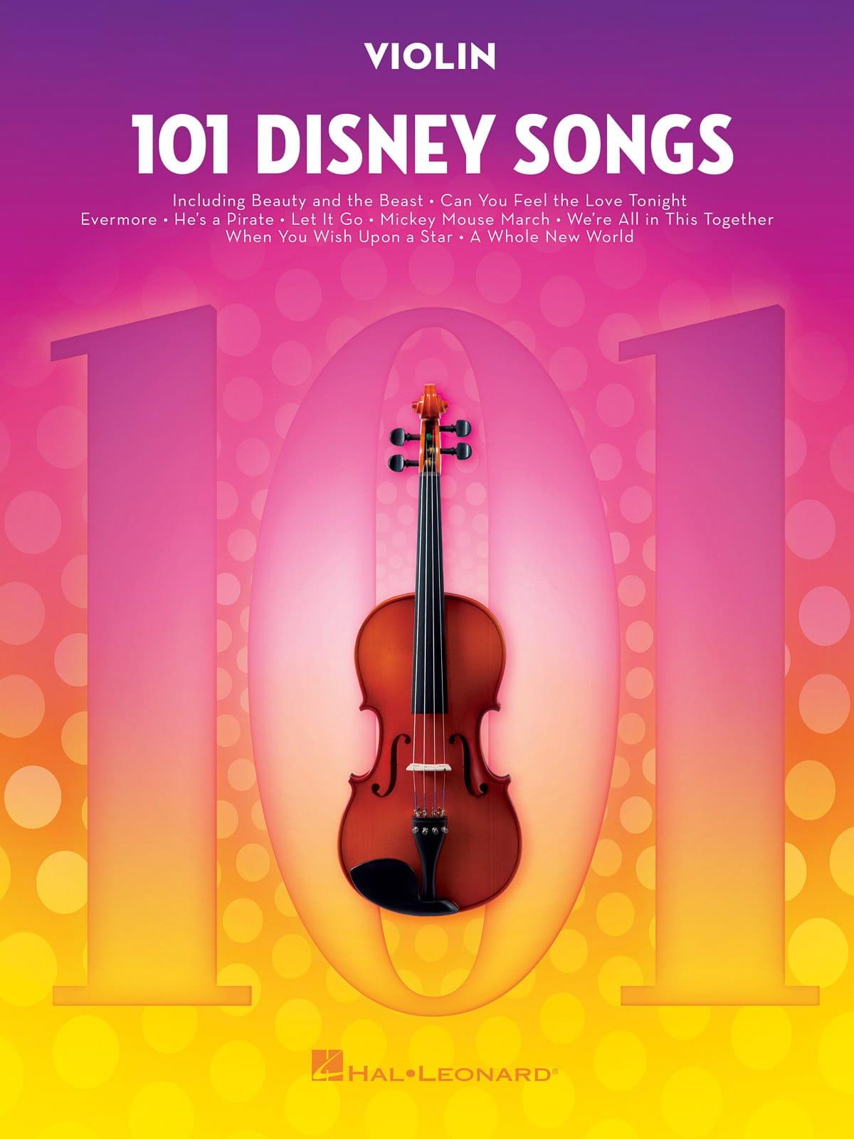 DISNEY - 101 canciones de Disney - Partition - di-arezzo.es