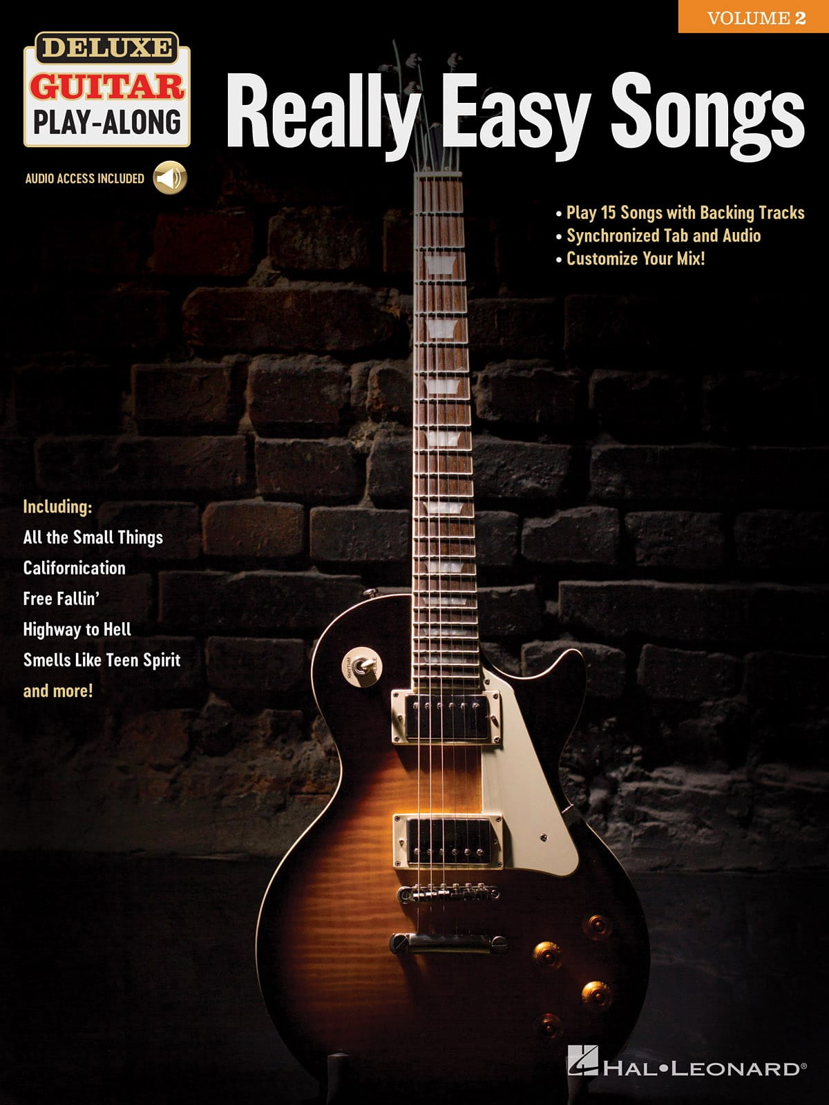 Deluxe Guitar Play-Along Volume 2 - Really Easy Songs - laflutedepan.com