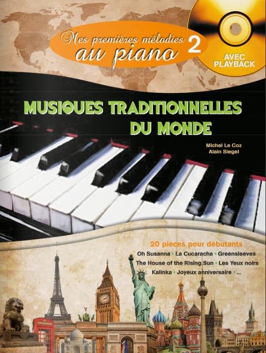 Mes Premières Mélodies au Piano - Mes Premières Mélodies au Piano volume 2 - Partition - di-arezzo.fr