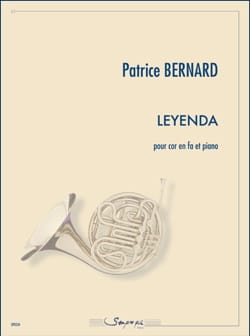 Leyenda - Patrice Bernard - Partition - Cor - laflutedepan.com