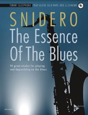 Jim Snidero - The Essence Of The Blues - Partition - di-arezzo.co.uk