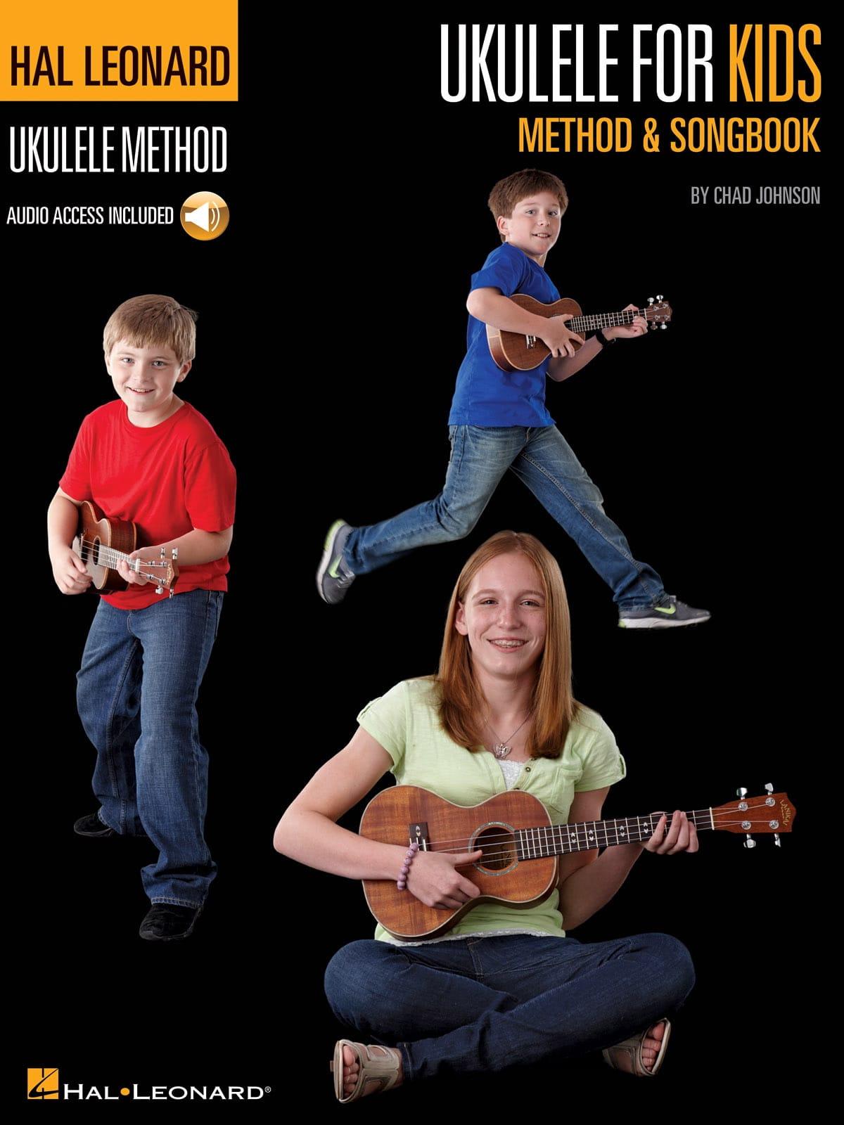 Ukulele for Kids Method & Songbook - Chad Johnson - laflutedepan.com