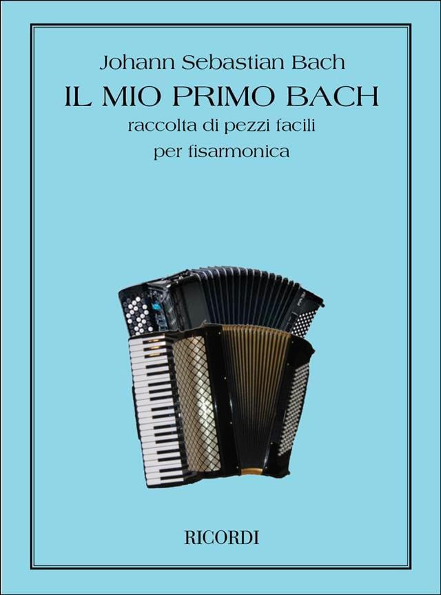 Mon Premier Livre de Bach - Recueil de pièces faciles pour Accordéon - laflutedepan.com