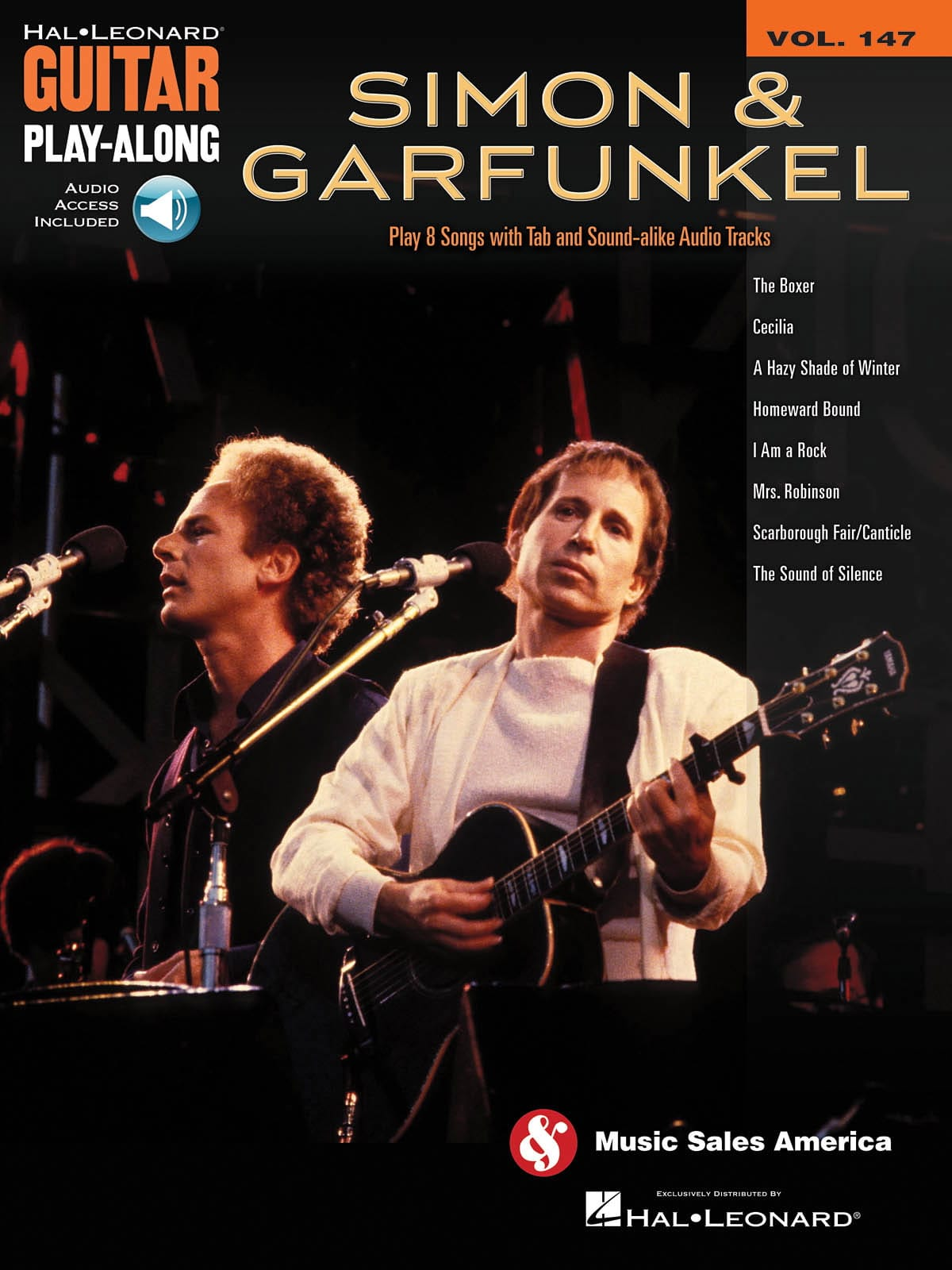 Guitar Play-Along Volume 147 - Simon & Garfunkel - laflutedepan.com