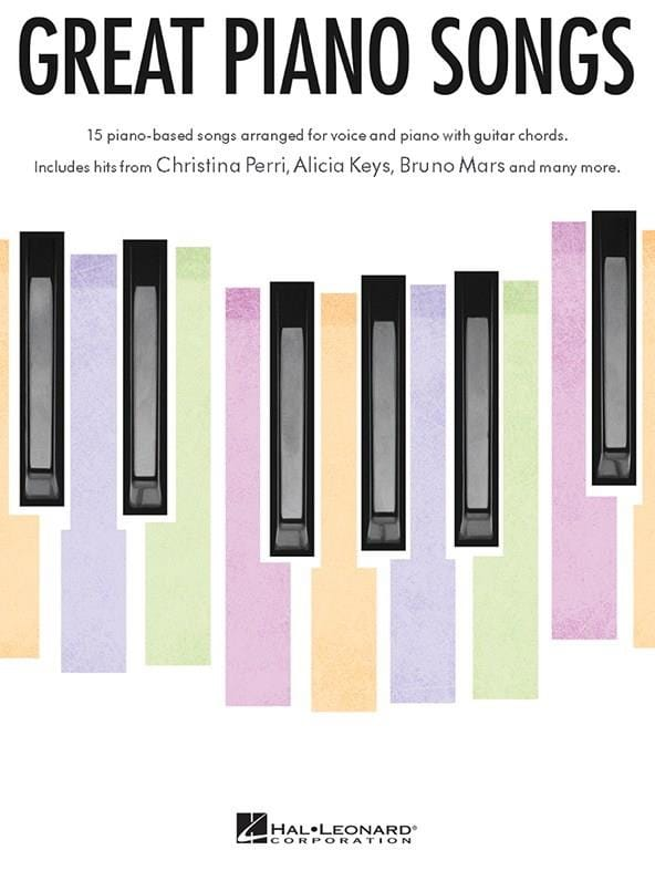Great Piano Songs - Partition - Pop / Rock - laflutedepan.com