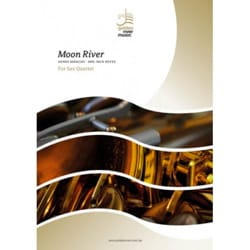 Henry Mancini - Moon River - Saxophone Quartet - Partition - di-arezzo.co.uk