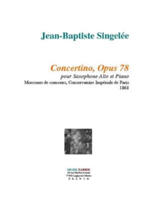 Jean-Baptiste Singelée - Concertino Opus 78 - Partition - di-arezzo.es