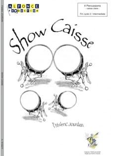 Show Caisse - Frédéric Jourdan - Partition - laflutedepan.com