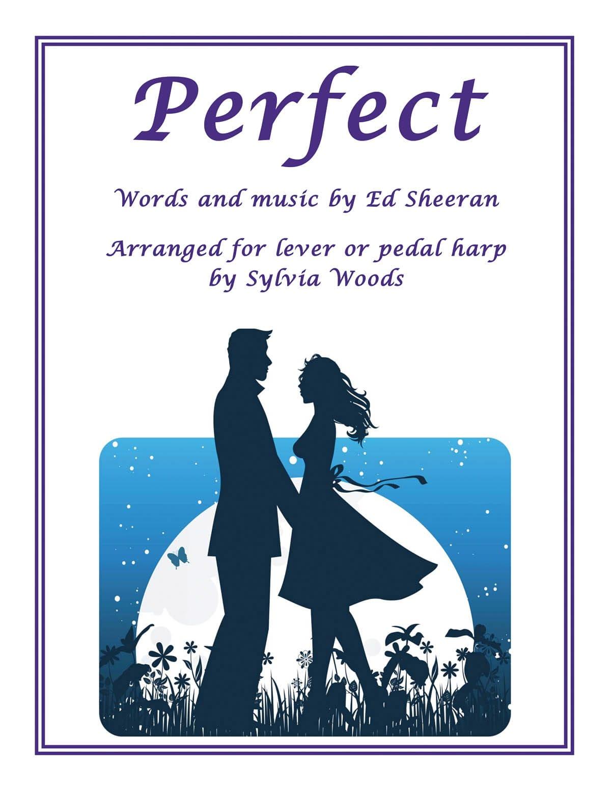 Perfect - Ed Sheeran - Partition - Harpe - laflutedepan.com