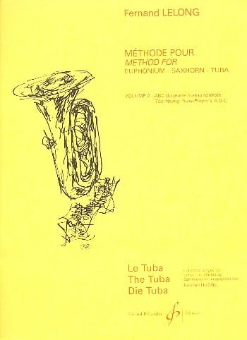 Fernand Lelong - ABC of Young Tubist Volume 2 - Partition - di-arezzo.co.uk