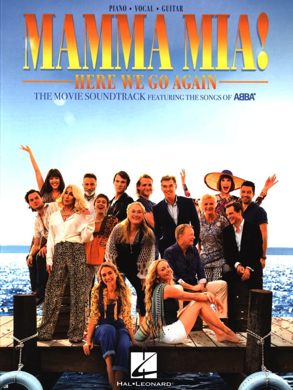 Abba - Mamma Mia! Here We Go Again - Movie Music - Partition - di-arezzo.co.uk
