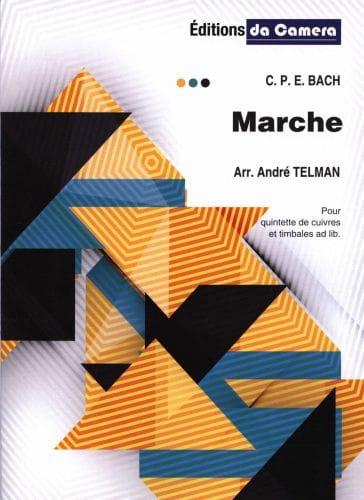 Marche - Carl Philipp Emanuel Bach - Partition - laflutedepan.com