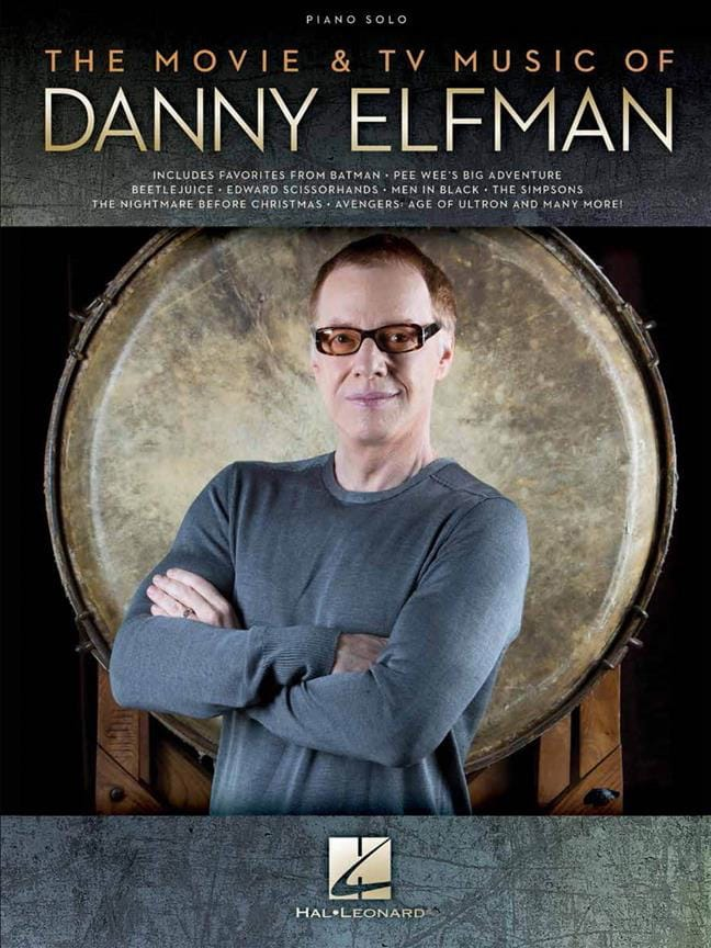 Danny Elfman - The Movie - TV Music by Danny Elfman - Partition - di-arezzo.co.uk