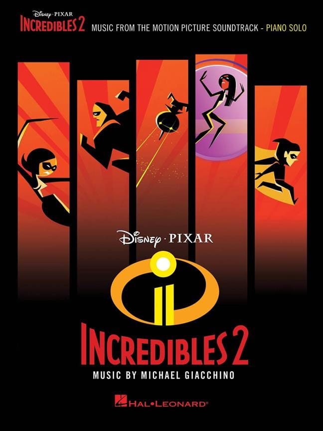 DISNEY / PIXAR - The Incredibles 2 - Movie Music - Partition - di-arezzo.it