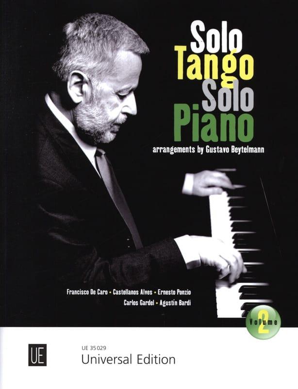 - Solo Tango - Volume 2 - Partition - di-arezzo.co.uk