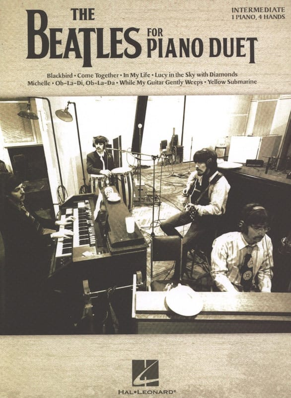 The Beatles for Piano Duet - Beatles - Partition - laflutedepan.com