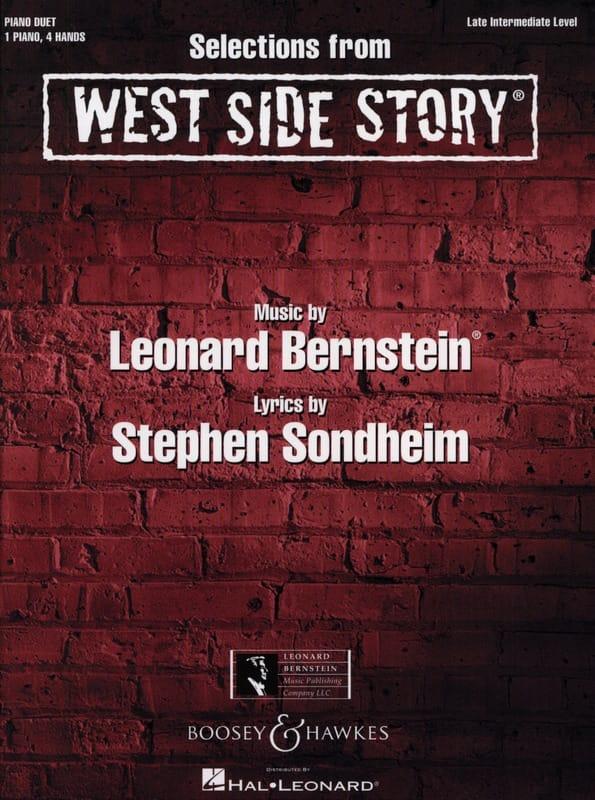 West Side Story pour piano 4 mains - BERNSTEIN - laflutedepan.com