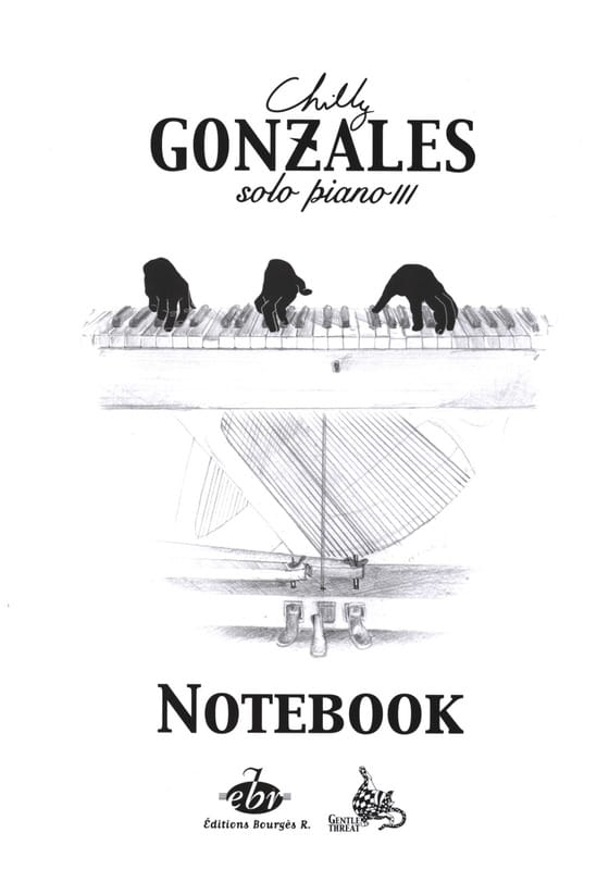 Notebook Solo Piano 3 - Chilly Gonzales - Partition - laflutedepan.com