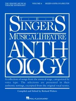 The Singer's Musical Theatre Anthology Volume 4 - Mezzo / Soprano - laflutedepan.com