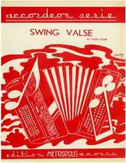 Swing Valse - Albert Van Dam - Partition - laflutedepan.com