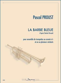 Pascal Proust - La barba azul - Partition - di-arezzo.es