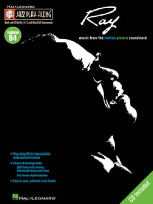 Ray Charles - Jazz play-along volume 94 - Ray - Partition - di-arezzo.co.uk