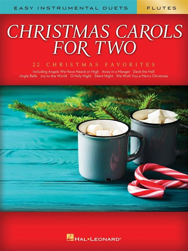 Christmas Carols for Two Flutes - Noël - Partition - laflutedepan.com