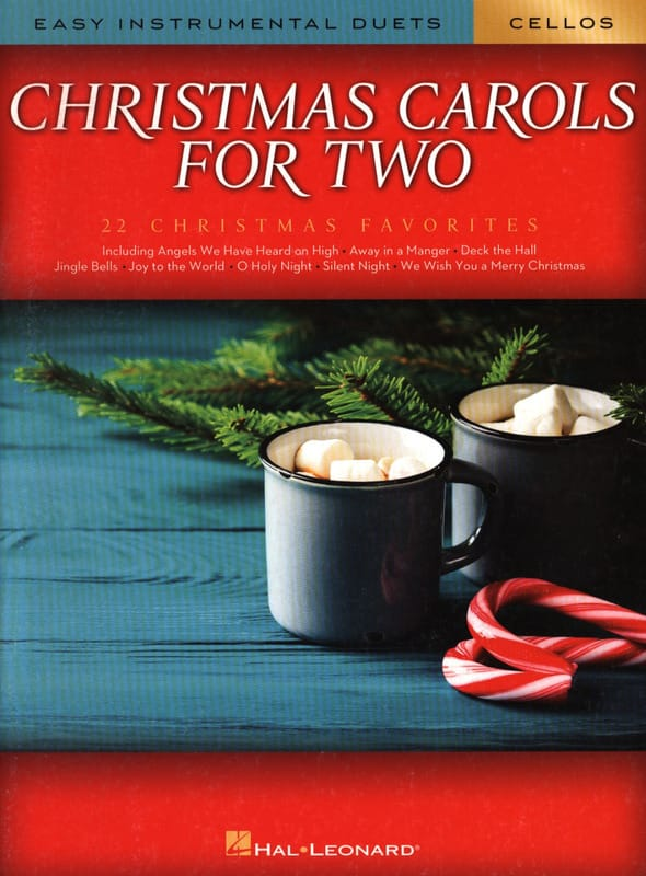 Christmas Carols for Two Cellos - Noël - Partition - laflutedepan.com