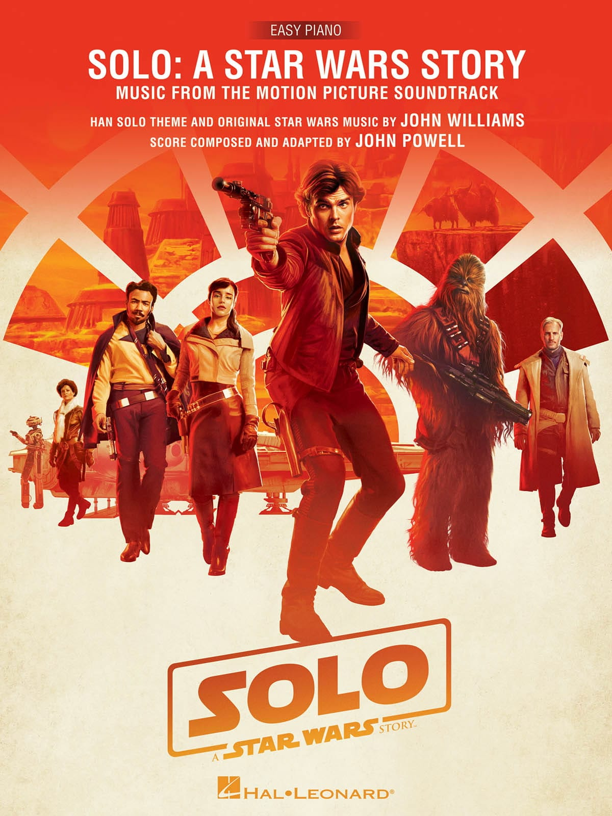 Solo: A Star Wars Story - Musique du Film, Version Facile - laflutedepan.com