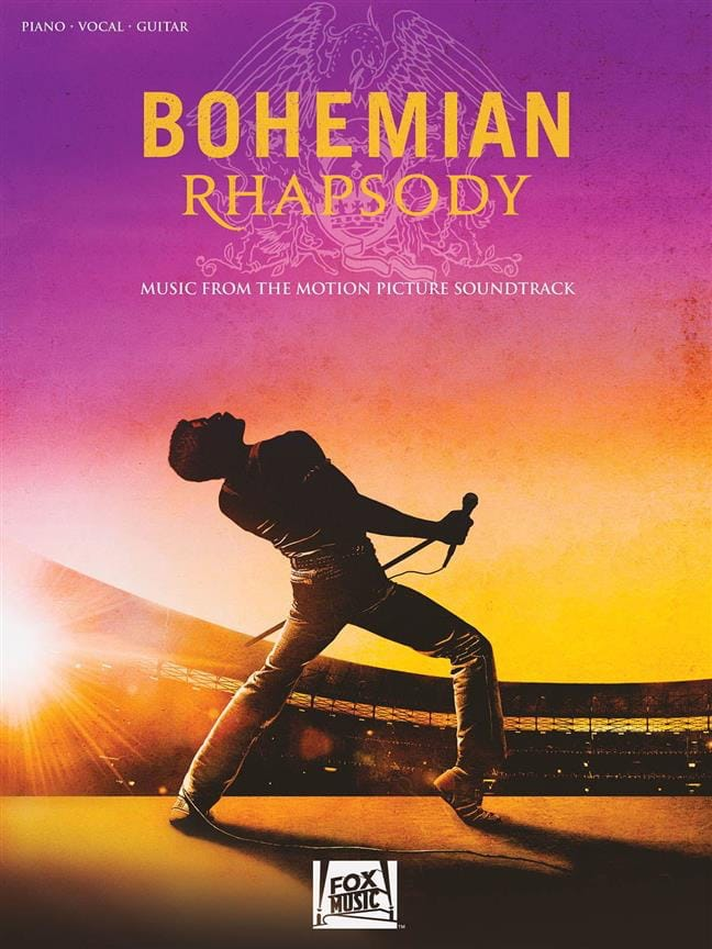 Queen - Bohemian Rhapsody - Movie Soundtrack - Partition - di-arezzo.com