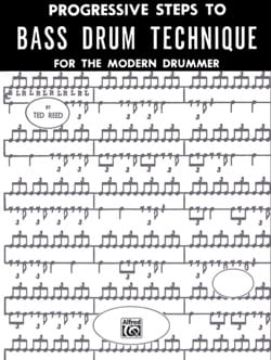 Progressive Steps To Bass Drum - Ted Reed - laflutedepan.com
