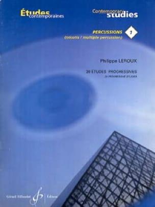 20 Etudes Progressives - Philippe Leroux - laflutedepan.com