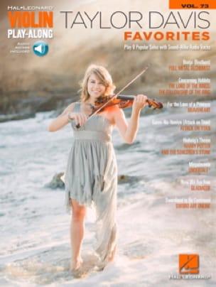 Violin Play-Along Volume 73 - Taylor Davis – Favorites - laflutedepan.com