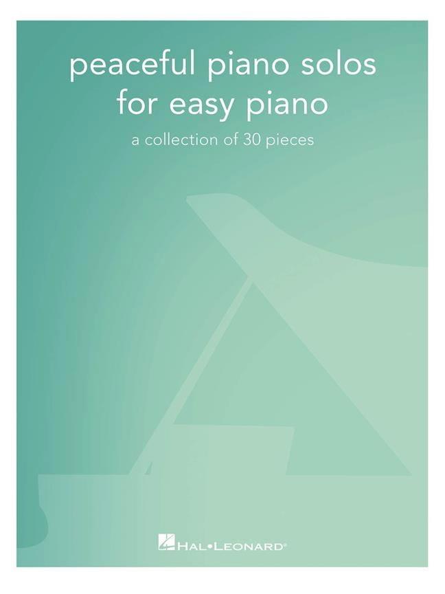 Peaceful Piano Solos for Easy Piano - Partition - laflutedepan.com